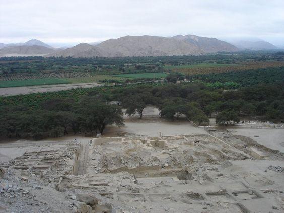 Sechin-Bajo Site archéologique de Sechin Bajo au Pérou