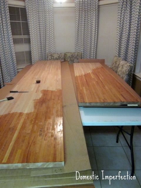 Domestic Imperfection: Two Weeks Of Countertops