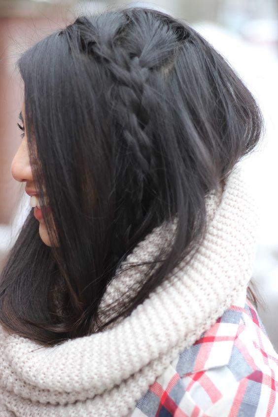 Plaid Coat #braids  www.rdsobsessions.com