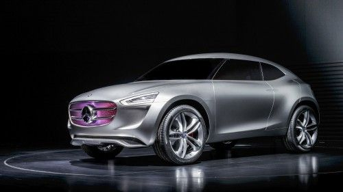 New Car Wallpaper - Mercedes-Benz G-Code Concept for Asia