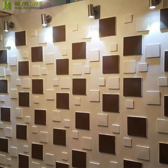 Building Material Waterproof 3d Wall Panel Sticker With Customized