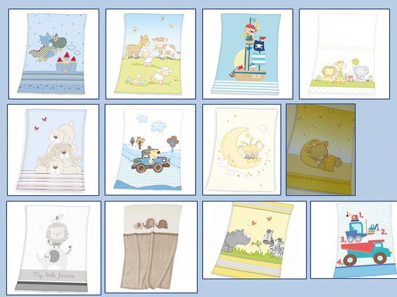 Babydecken Microfaser - kuschelweiche Qualität -  die Decken werden nach Kundenwunsch individualisiert mit Namen und Geburtsdatum des Babys. Ein tolles Geschenk.