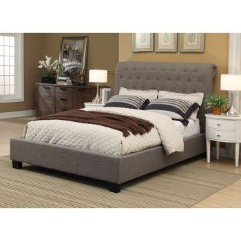 costco rafferty queen upholstered bed bedroom pinterest