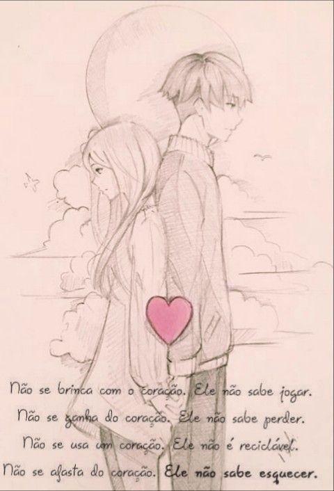 Frases Amor Desenhos De Casais Anime Desenhos Romanticos Tumblr