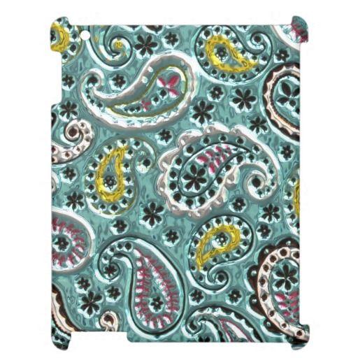 Case Savvy iPad 2/3/4 Faux Metallic pattern case iPad Case