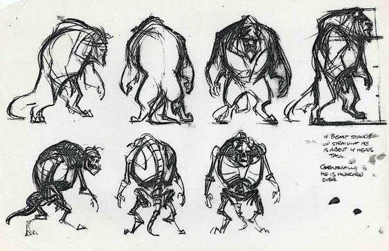 Academy Of Character Design : Academy of art character and creature design notes model