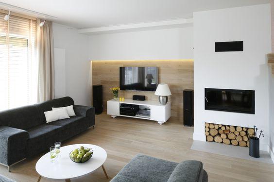 Sciana Z Tv Zobacz 12 Pomyslow Projektantow Home House Design Living Room