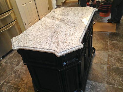 Kitchen Island Granite Edges latest archcity granite installation. andino white granite matched