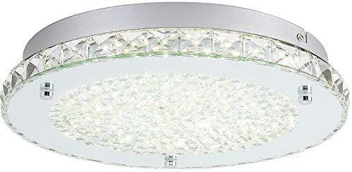 Led Ceiling Light Auffel Minimalist Modern 11 Inch Surface Flush Mount Light Fixture Glass 4000k Day In 2020 Glass Light Fixture Light Fixtures Flush Mount White Lamp