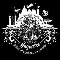 Welcome to Hogwarts (white) by johnnygreek989.deviantart.com on @DeviantArt