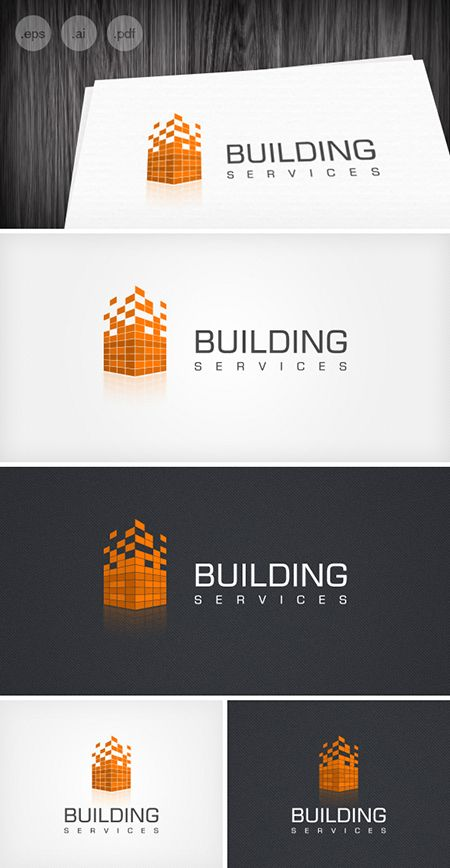 Free logo building services knowhow pinterest for Building services design