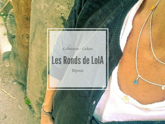 Nouveau - Collection Colors Bijoux fins | Les Ronds de LolA | Créateur