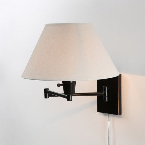 Wildon Home Errol Swing Arm Wall Lamp & Reviews Wayfair Supply office Pinterest Lamps ...