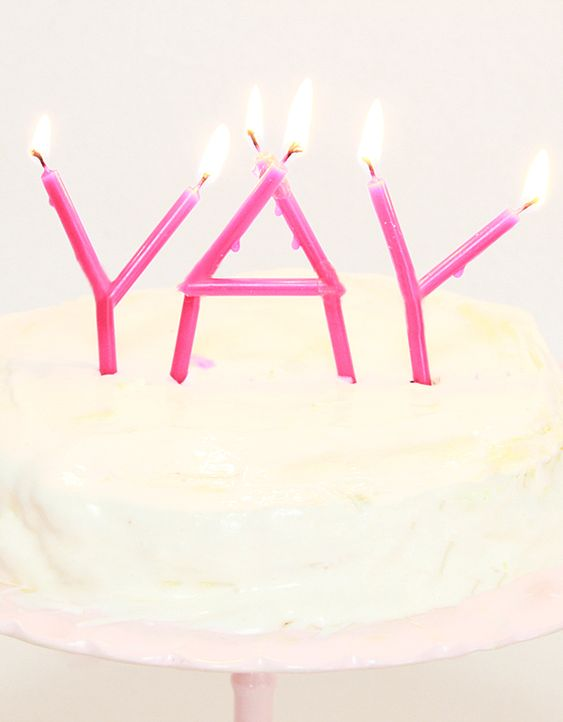 PARTY | YAY Candles