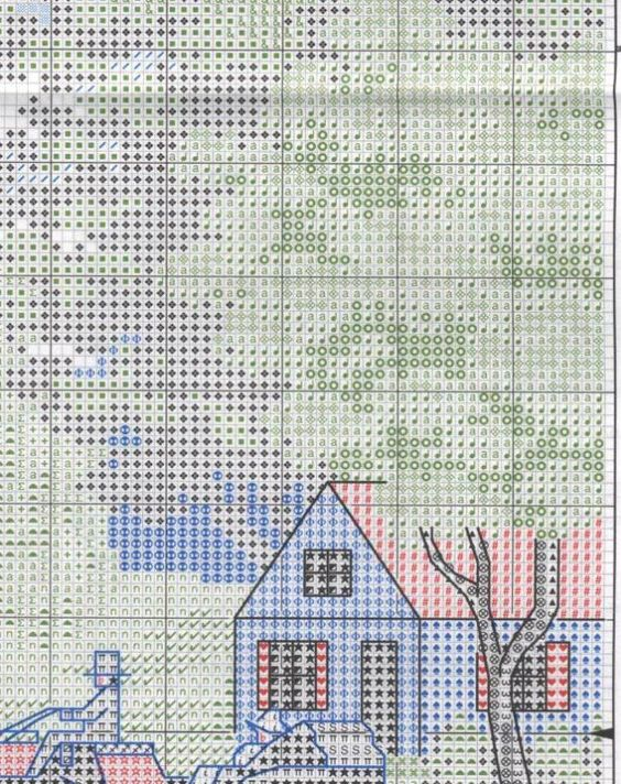 Схема вышивки Picnic on the Lawn (Dimensions) 8 из 16