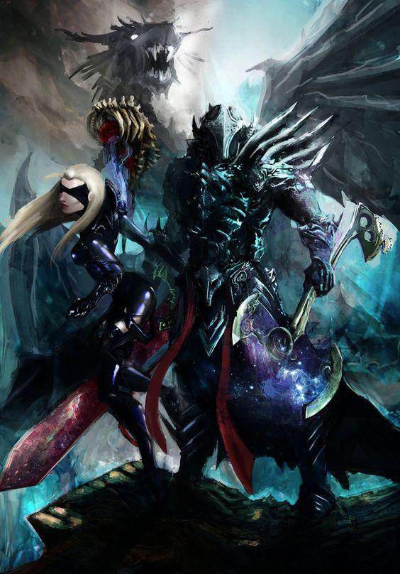 Dragon Slayers by Wilhengard.deviantart.com on @DeviantArt