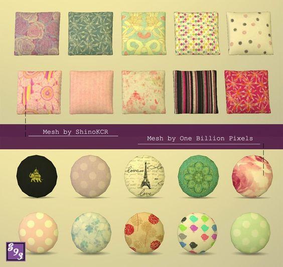 CC by Shenice93: Cute Pillow Set S4 memo - Buy > Pillows (Decor) Pinterest Cute pillows ...
