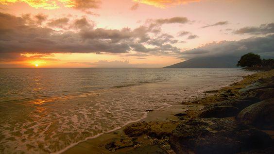 Kamaole Beach Park, Near Keihei Skatepark, Maui, Hawaii