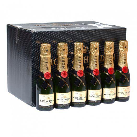 Moet & Chandon Brut Imperial Champagne Miniature 20cl 24