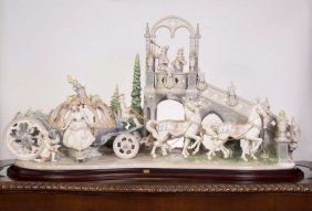 Lladro - Cinderella's Arrival : Lot 54