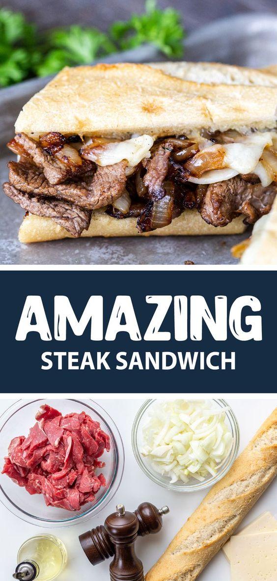 Steak Sandwich Recipe - Momsdish