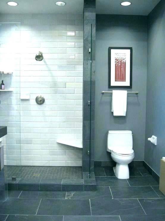 Gray Tile Bathroom Ideas Dark Floor Full Size Of Wood Look Trendy Bathroom Tiles Gray Bathroom Decor Small Bathroom