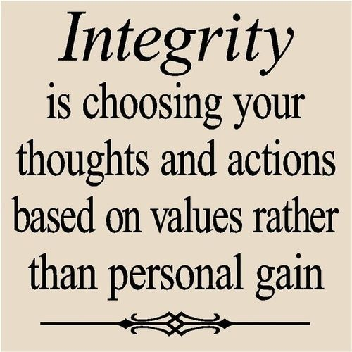 Definition of integrity - courseworkexamples.x.fc2.com