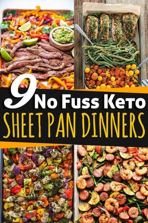 9 No Fuss Keto Sheet Pan Dinners