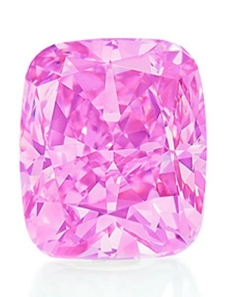 The five-carat Vivid Pink Diamond sold at Christie's Hong Kong auction on December 1, 2009