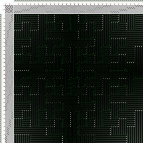 Drawdown Image: Figurierte Muster Pl. XLVIII Nr. 2 (a) Motif 4, Die färbige Gewebemusterung, Franz Donat, 8S, 8T