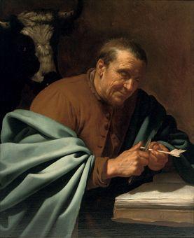 JAN VAN BIJLERT (UTRECHT C.1597/8-1671) SAINT LUKE THE EVANGELIST: