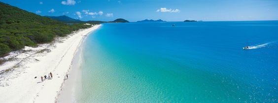 Whitehaven Beach, The Whitsundays - No words needed #beach #whitsundays #island #queensland