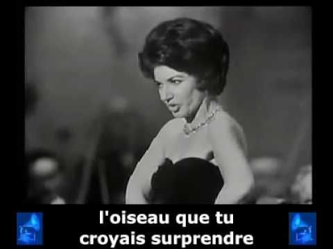 Maria Callas - Habanera - Carmen - Bizet  Carmen Habanera  is an aria from the French opéra comique by Georges Bizet. The libretto is by Henri Meilhac and Ludovic Halévy, based on the novella of the same title by Prosper Mérimée.