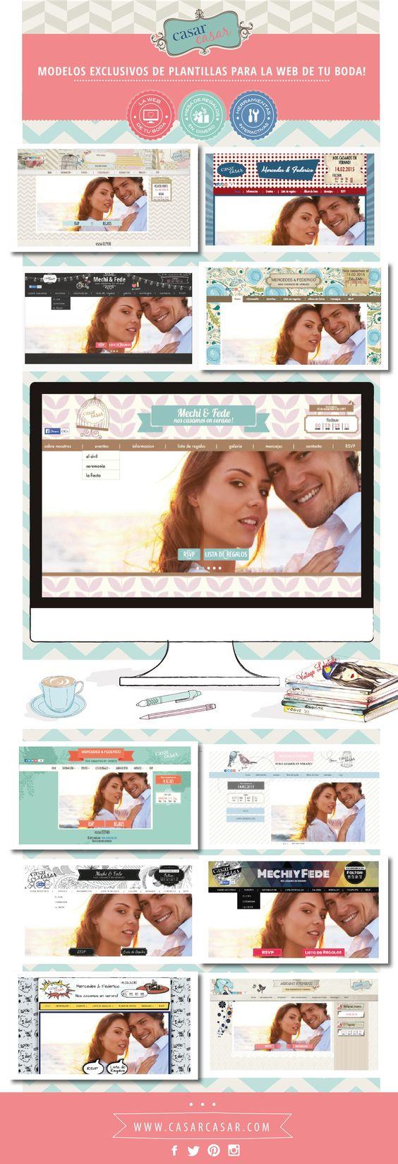 Te casas? Crea la web de bodas de tus sueños y recibas regalos en dinero!!!! Sólo en www.casarcasar.com.mx!