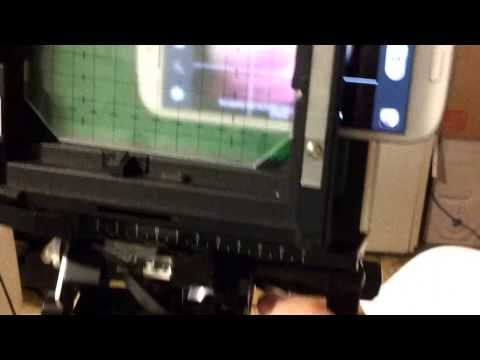 Cell Phone Sinar Monorail Camera - YouTube