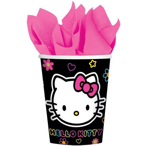 Hello Kitty Tween 9 oz Cups