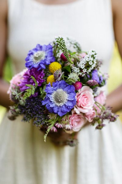 Instead of scabiosa: http://www.stylemepretty.com/2015/04/16/get-the-look-wedding-flower-alternatives/