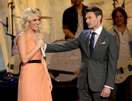 Carrie Underwood And Ryan Seacrest | GRAMMY.com