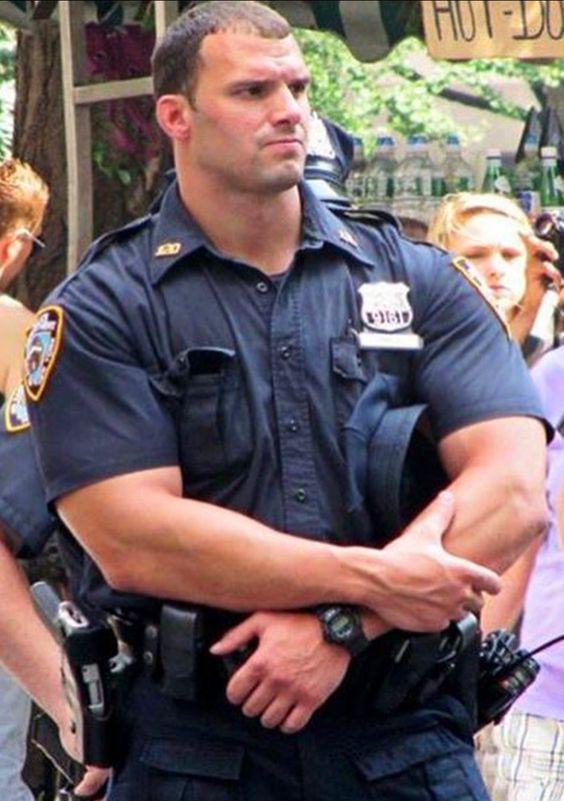 アメリカの警察官