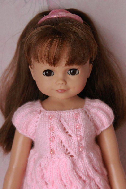 Beaucoup de robes en tricot pour poupées différentes. / Vêtements pour poupées / Shopik. Vente acheter une poupée / Beybiki. Poupées photo. Vêtements pour poupées