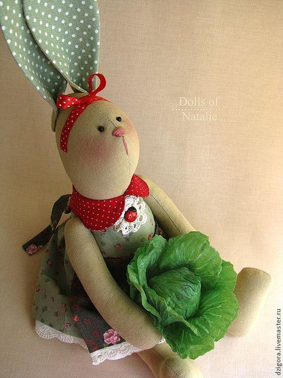 Капустная Сьюзи - игрушка зайка,игрушка заяц,игрушка кролик,интерьерная игрушка