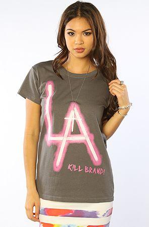 Want it? Win it with a  shopping spree! #PLNDR  Kill Brand LA Sticks Tee