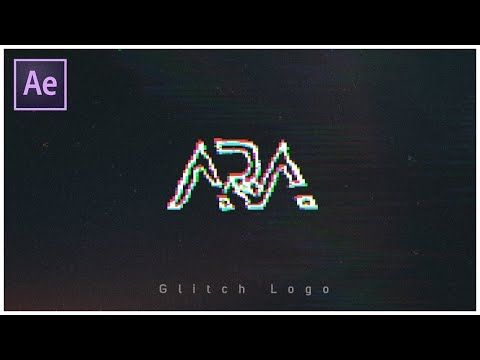 Glitch Logo Animation Template After Effects Free Download How