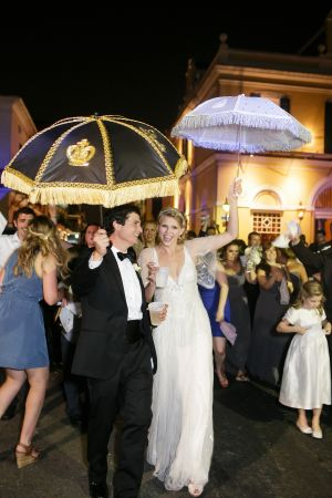 New Orleans Wedding Processional | photography by http://www.greergphotography.com/
