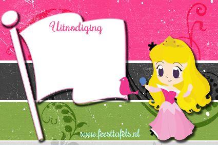 #uitnodiging #assepoester #cinderella #invitation #birthday party #feesttafels
