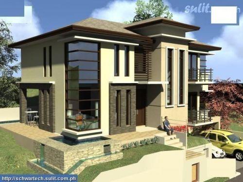 Modern House Windows garage under the house, windows   duplex facades   pinterest