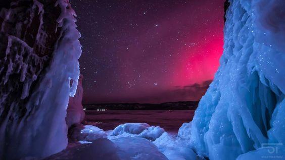 El espectáculo de las cuatro estaciones del lago Baikal, en dos minutos