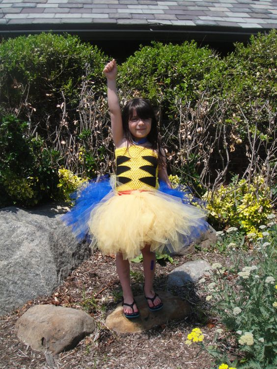 Wolverine traje /Wolverine tutú / disfraz de X-Men / tutú de X-Men / / traje de Halloween / / Halloween Tutu