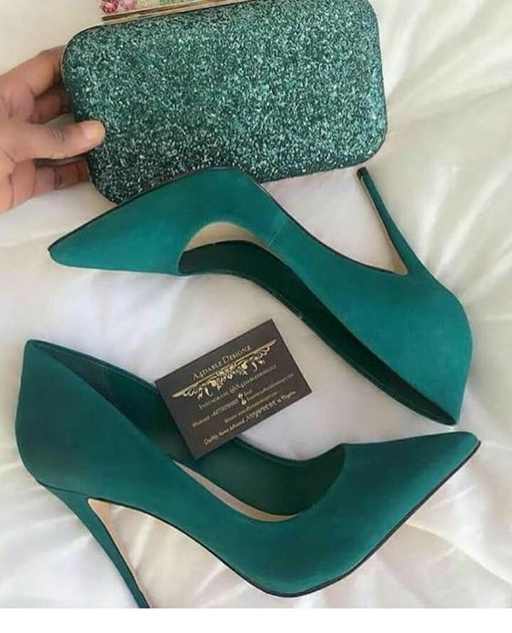 Awesome Mint Set Shoes And Bag Heels Trending Shoes Shoe Boots