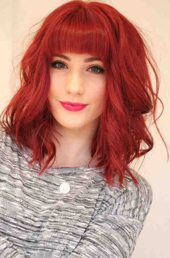21 Cute Medium Length Wavy Hair For 2018 2019 Hair Styles Hair Color Auburn Short Hair Styles